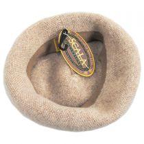 Tweed Wool Beret in