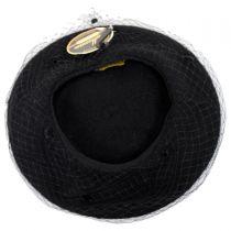 Netting Wool Beret in