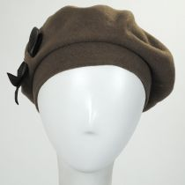 Colette Wool Beret with Storage Pouch alternate view 2