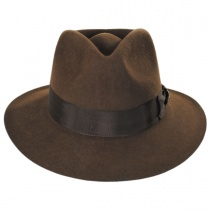 Officially Licensed Fur Felt Fedora Hat alternate view 2