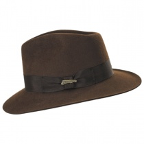 Officially Licensed Fur Felt Fedora Hat alternate view 3