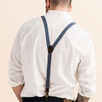 JJ Skinny Suspenders - Striped in