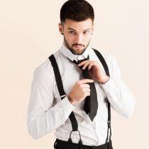 JJ Classic Suspenders - Black Mix alternate view 2