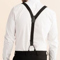 JJ Classic Suspenders - Black Mix alternate view 4