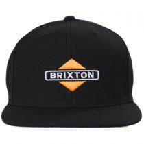 Brink Mid Profile Snapback Baseball Cap in
