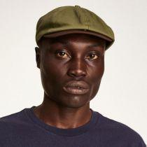 Brood Cotton Twill Newsboy Cap in
