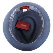 Accord Wool Teardrop Stingy Brim Fedora Hat in