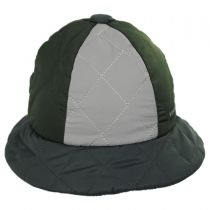 Quilted Casual Bucket Hat in