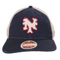 New York Mets 1962-1980 Strapback Trucker Baseball Cap alternate view 2
