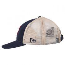 New York Mets 1962-1980 Strapback Trucker Baseball Cap alternate view 3