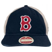Boston Red Sox 1946-1953 Strapback Trucker Baseball Cap alternate view 2