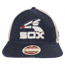 Chicago White Sox 1976-1981 Strapback Trucker Baseball Cap alternate view 2