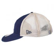 Brooklyn Dodgers 1949-1957 Strapback Trucker Baseball Cap alternate view 3