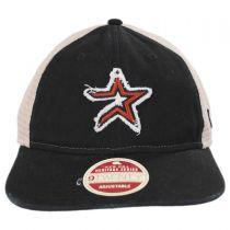 Houston Astros 2000 Strapback Trucker Baseball Cap alternate view 2