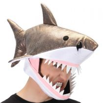 Great White Shark Jawesome Hat alternate view 3