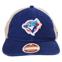 Toronto Blue Jays 1989-1992 Strapback Trucker Baseball Cap alternate view 2