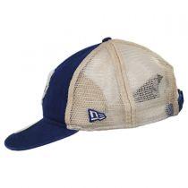 Toronto Blue Jays 1989-1992 Strapback Trucker Baseball Cap alternate view 3