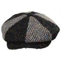 Magee 1866 Donegal Tweed Green Wool Newsboy Cap alternate view 2