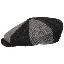 Magee 1866 Donegal Tweed Green Wool Newsboy Cap alternate view 3