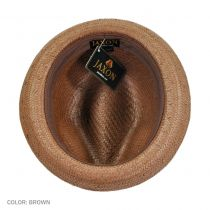 Tribeca Toyo Straw Trilby Fedora Hat alternate view 18