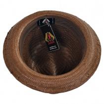 Tribeca Toyo Straw Trilby Fedora Hat