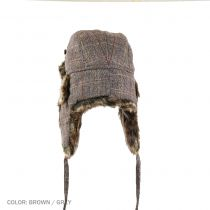 Tweed Trapper Hat