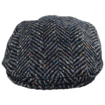 Magee 1866 Donegal Tweed Longford Wool Flat Cap alternate view 2