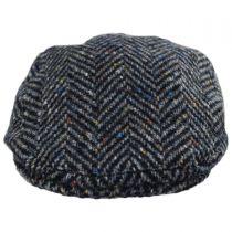 Magee 1866 Donegal Tweed Longford Wool Flat Cap in
