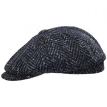 Magee 1866 Donegal Tweed Mayo Charcoal Wool Newsboy Cap in