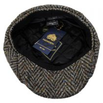 Magee 1866 Donegal Tweed Mayo Olive Wool Newsboy Cap alternate view 8