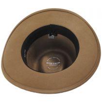 Pontiac Wool Crushable Fedora Hat in
