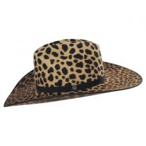 On the Prowl Wool Western Hat in