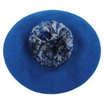 Meridian Pom Wool Beret alternate view 2