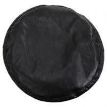 Faux Leather Beret alternate view 2