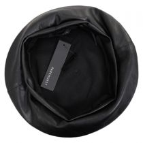 Faux Leather Beret alternate view 3