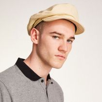 Unstructured Cotton Fiddler Cap in
