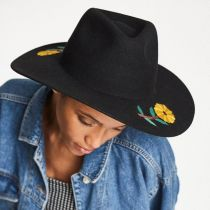 Corey Wool Felt Fedora Hat in