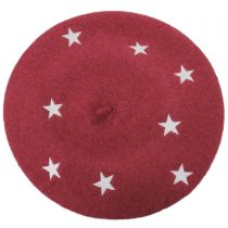 Star Wool Beret alternate view 5