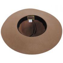 Floppy Tassel Trim Wool Hat in