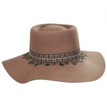 Planter Tassel Trim Wool Gambler Hat in