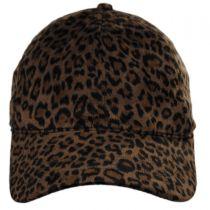 Leopard Baseball Cap in