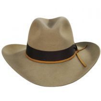 Double Down Wool Felt Western Hat in