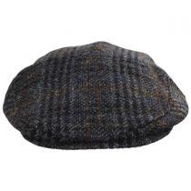 Flavio Harris Tweed Earflap Wool Ivy Cap in