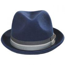Big Boy Wool Felt Fedora Hat in