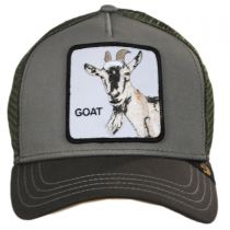 Goat Trucker Snapback Baseball Cap in