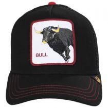 Bull Trucker Snapback Baseball Cap in
