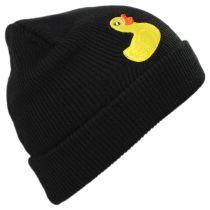 Peek A Boo Rubber Ducky Beanie Hat in