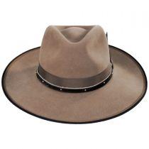 Latitude Wool Felt Crossover Hat in