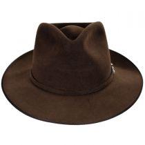 G. D. Rye Firm Fur Felt Fedora Hat in