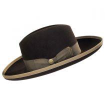 West Bound Firm Fur Felt Crossover Hat in